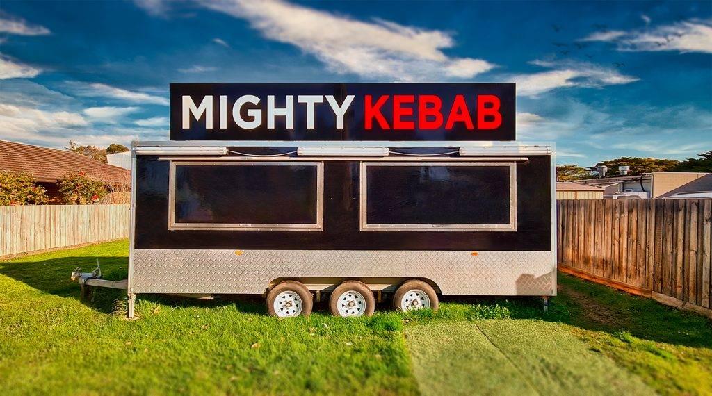 mighty kebab cowes food van